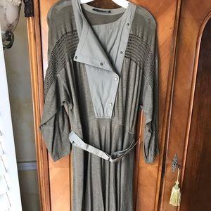 Louis Feraud linen dress.